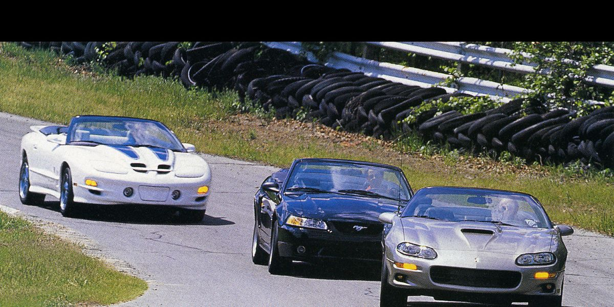 1999 Ford Mustang Cobra Convertible Vs Chevrolet Camaro Ss
