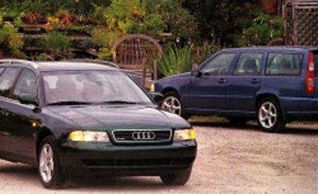 Audi A4 Avant Quattro vs. Volvo V70 AWD