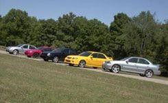 Dodge Neon vs. VW Jetta, Nissan Sentra, Subaru Impreza, Mazda Protegé