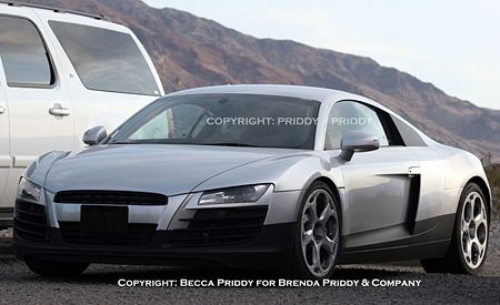 Production 2008 Audi R8 Caught During Final Testing in the U.S.