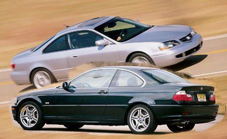 Acura 3 2 Cl Type S Vs Bmw 330ci