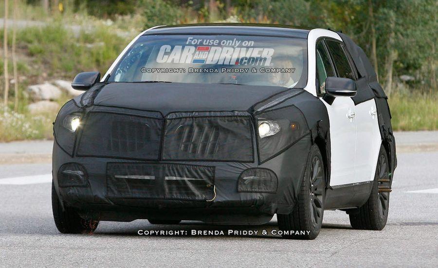 2010 Lincoln MKT Confirmed
