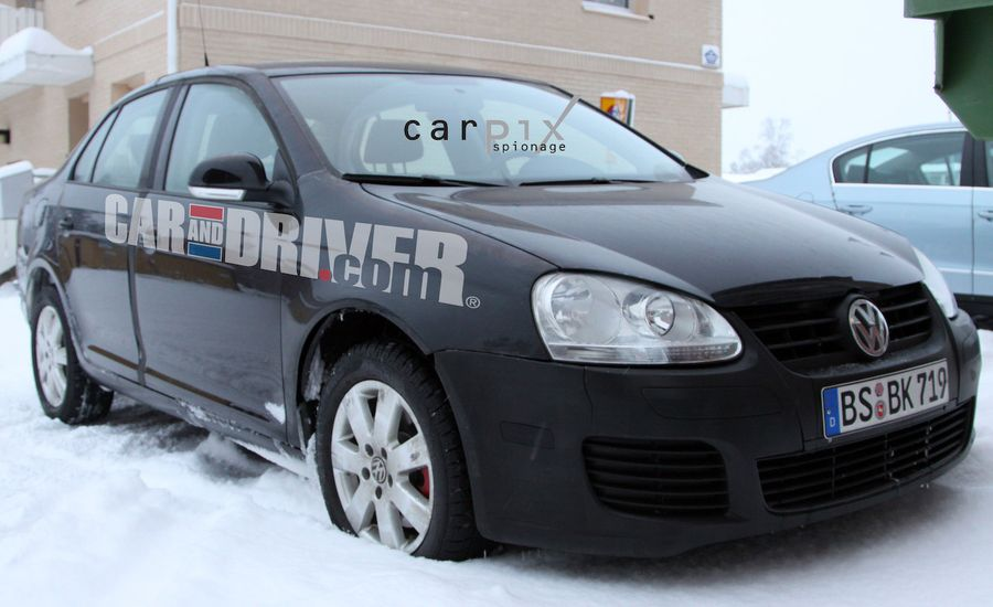 2011 Volkswagen Jetta / NCS and NMS U.S.-Market Sedans