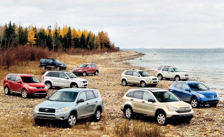 2008 Toyota RAV4 vs. Honda CR-V, Nissan Rogue, Ford Escape, and Five More Compact SUVs