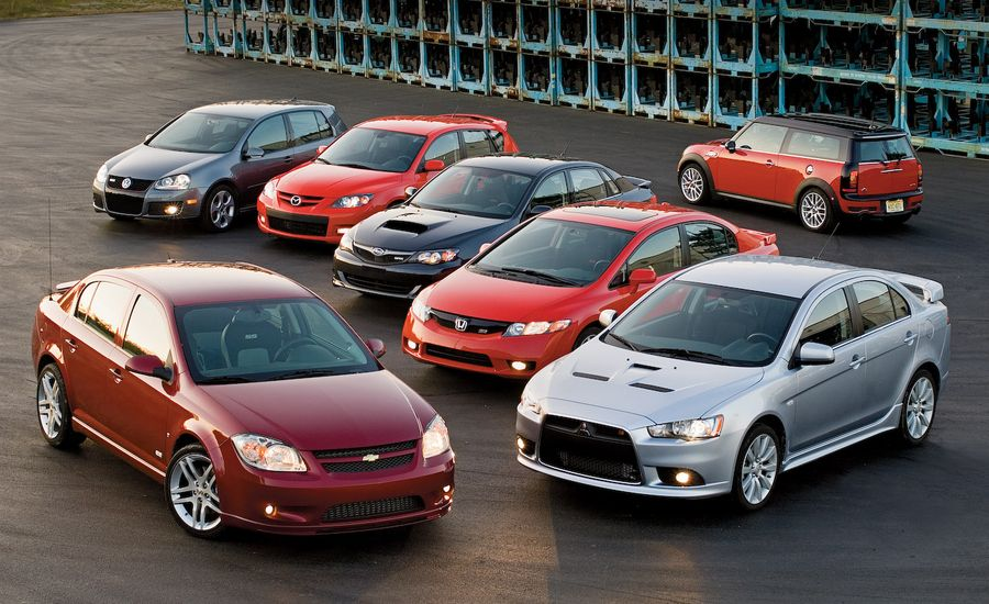 Cobalt SS v WRX, and 5 More Sport Compacts