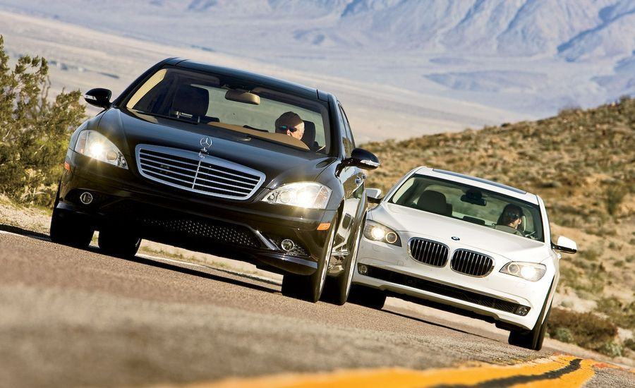 2009 bmw 750li vs 2009 mercedes benz s550 for 2009 mercedes benz s550 price