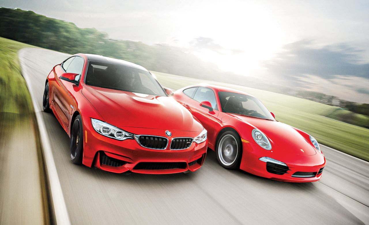 August 2014: BMW M4 vs. Porsche 911, 918 Spyder Tested, and More!