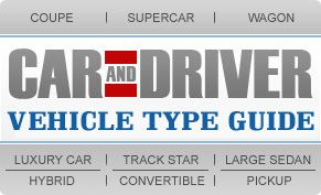 Car and Driver Vehicle Type Guide