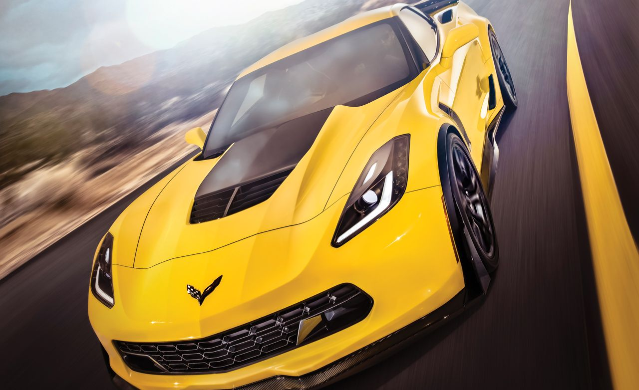 Car and Driver March 2014 Issue: 2015 Chevy Corvette Z06, EV Comparo, WRX Tested, and More!