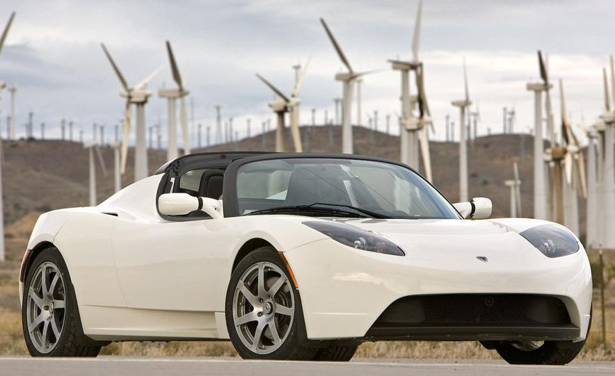 2009 Tesla Roadster - Slide 1