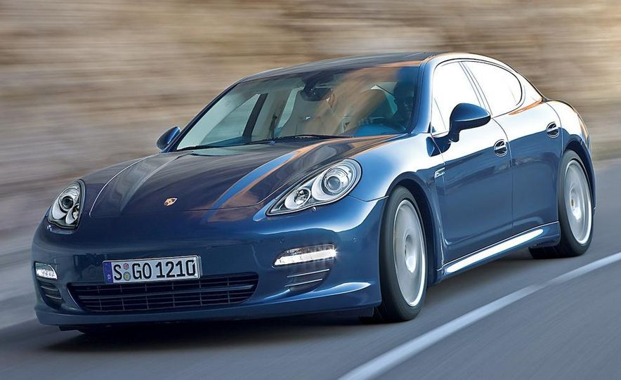 2010 Porsche Panamera 4S and Turbo AWD cutaway - Slide 14
