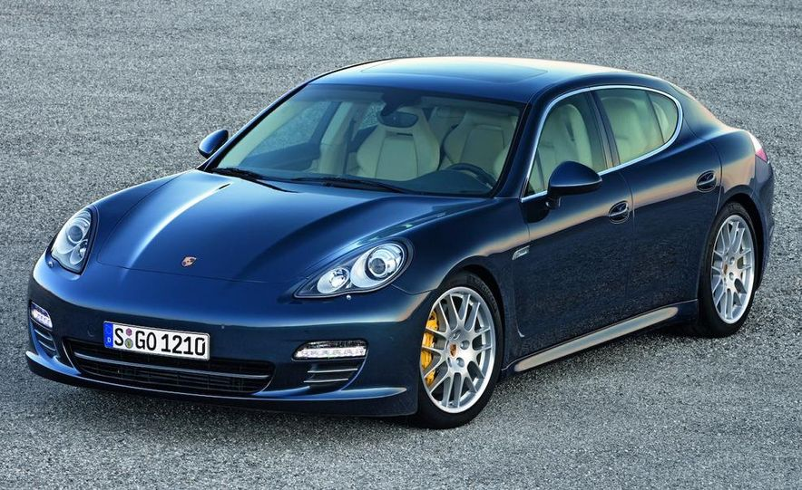2010 Porsche Panamera 4S and Turbo AWD cutaway - Slide 20