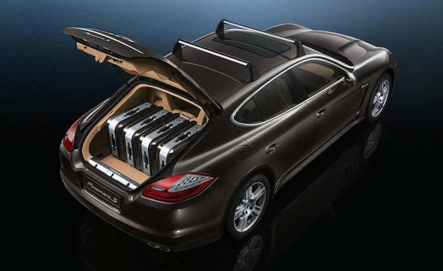 2010 Porsche Panamera 4S and Turbo AWD cutaway - Slide 39