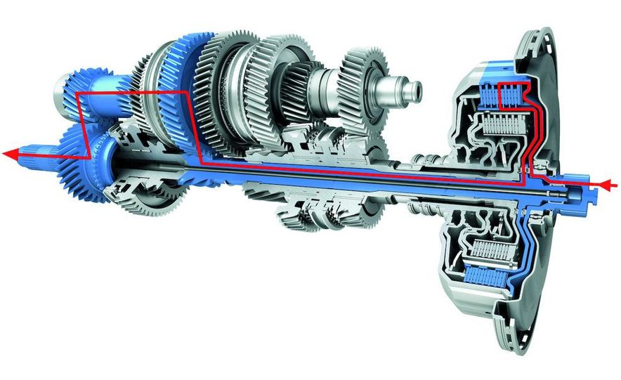2010 Porsche Panamera 4S and Turbo AWD cutaway - Slide 3