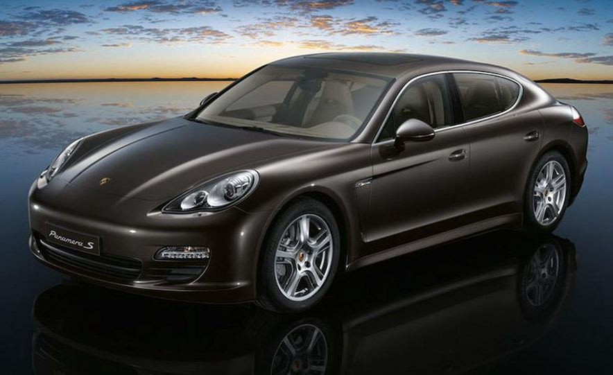 2010 Porsche Panamera 4S and Turbo AWD cutaway - Slide 19
