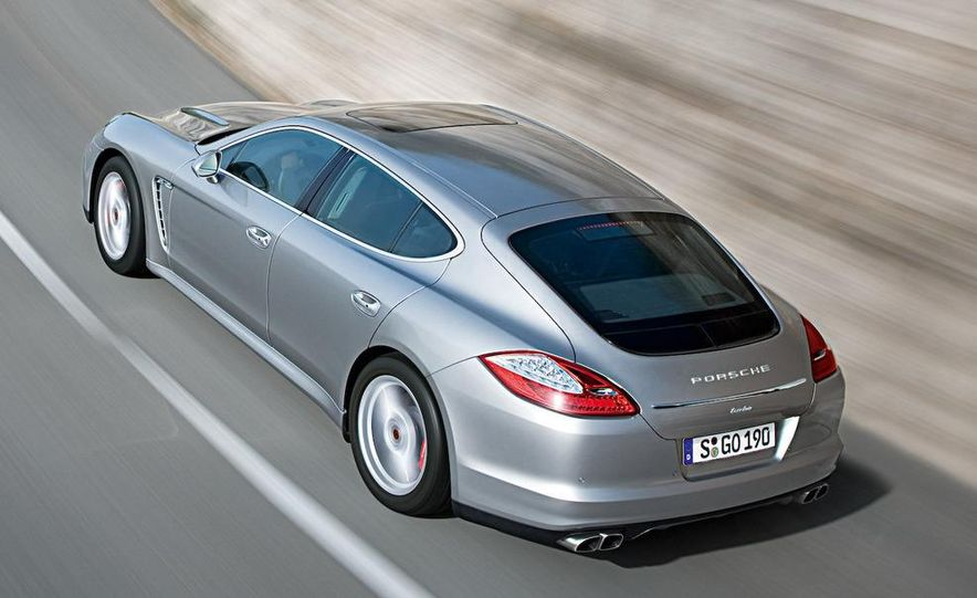 2010 Porsche Panamera 4S and Turbo AWD cutaway - Slide 16