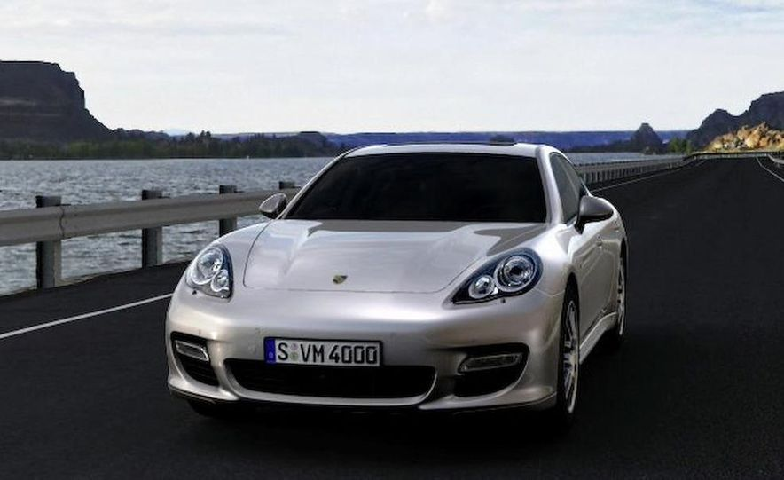 2010 Porsche Panamera 4S and Turbo AWD cutaway - Slide 23