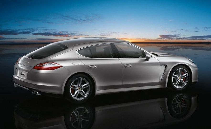 2010 Porsche Panamera 4S and Turbo AWD cutaway - Slide 26