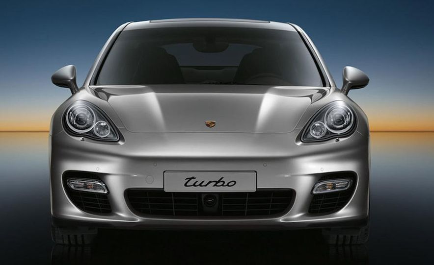 2010 Porsche Panamera 4S and Turbo AWD cutaway - Slide 28