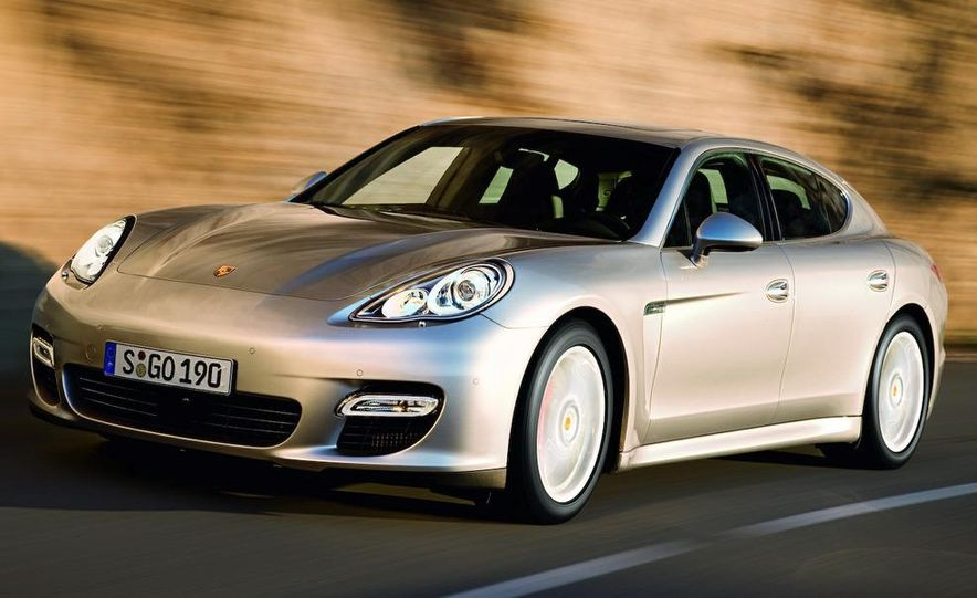 2010 Porsche Panamera 4S and Turbo AWD cutaway - Slide 30