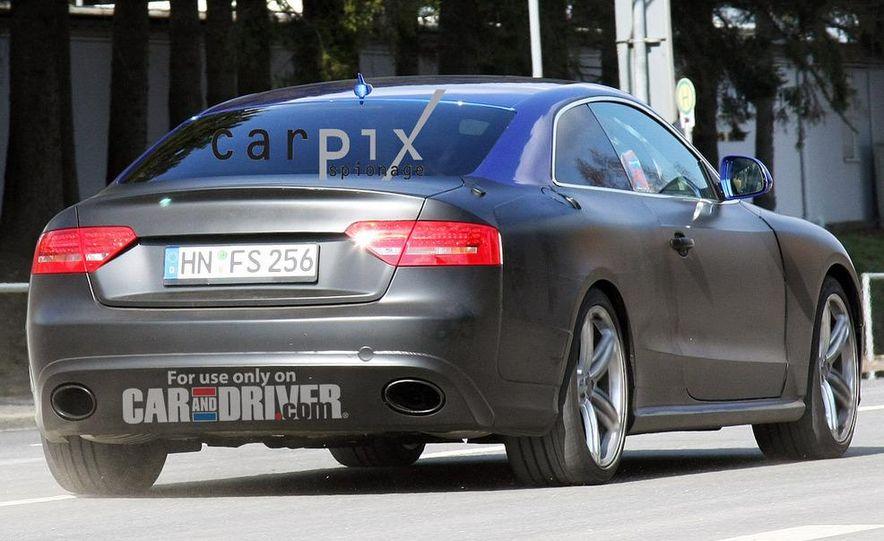 2011 Audi RS 5 (spy photo) - Slide 5