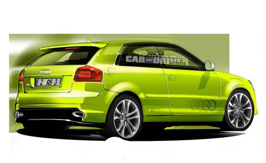 2010/11 Audi RS 3 (artist's rendering) - Slide 2