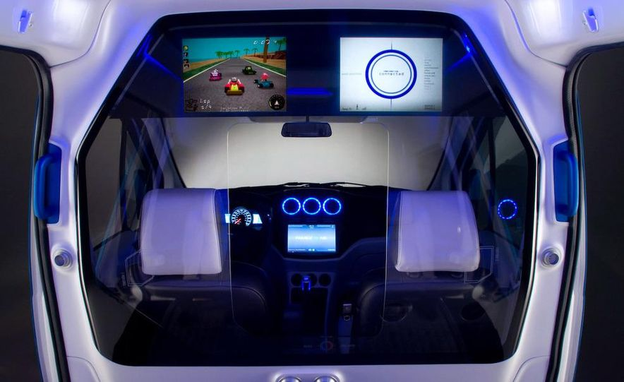 Ford Transit Connect Family One concept - Slide 15