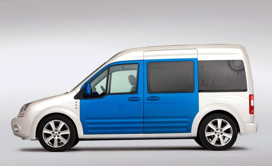 Ford Transit Connect Family One concept - Slide 4