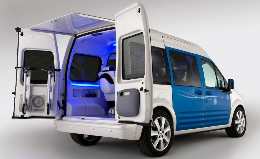 Ford Transit Connect Family One concept - Slide 8