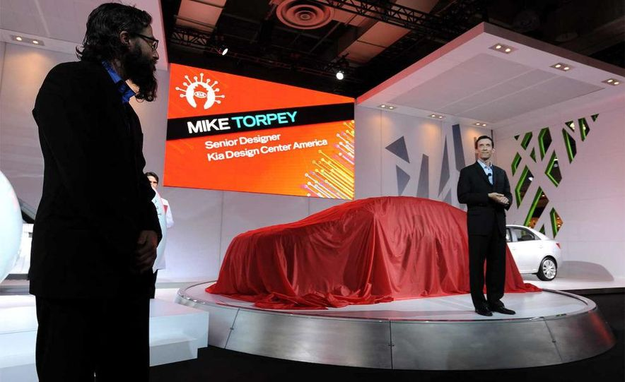 2010 Kia Forte Koup unveiling at the 2009 New York Auto Show - Slide 2