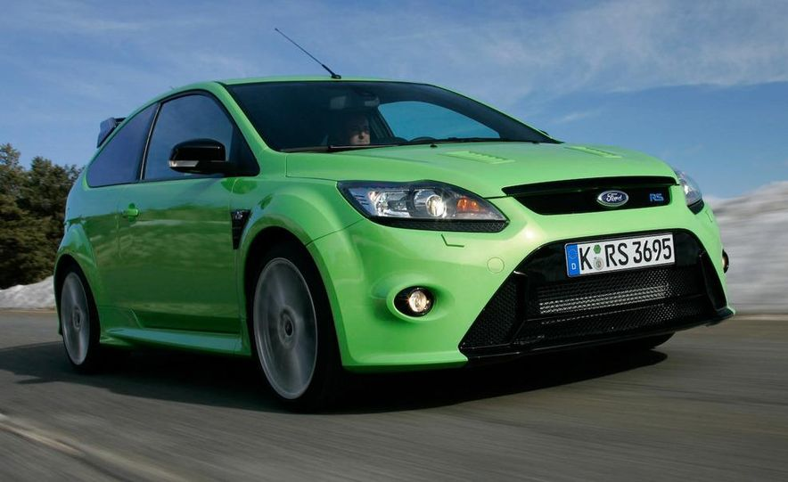 2009 Ford Focus RS - Slide 9
