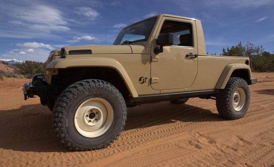 Jeep Wrangler Lower Forty concept - Slide 8