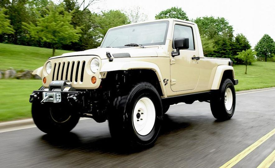 Jeep Wrangler Lower Forty concept - Slide 9