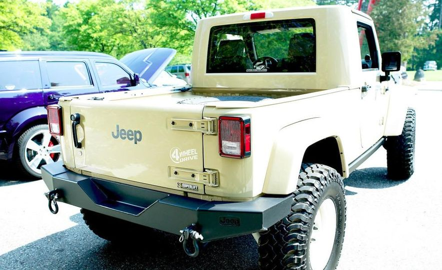 Jeep Wrangler Lower Forty concept - Slide 15