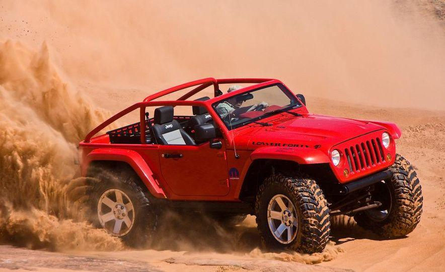 Jeep Wrangler Lower Forty concept - Slide 2