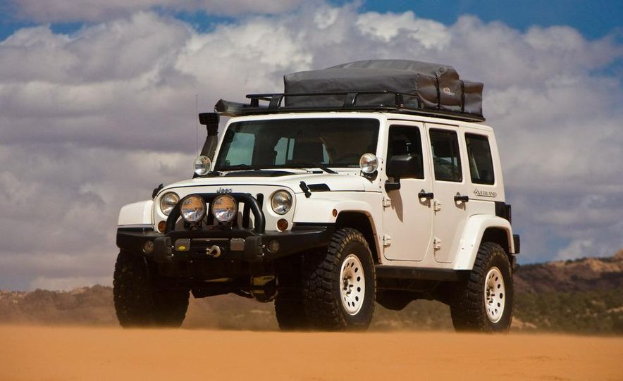 Jeep Wrangler Lower Forty concept - Slide 5
