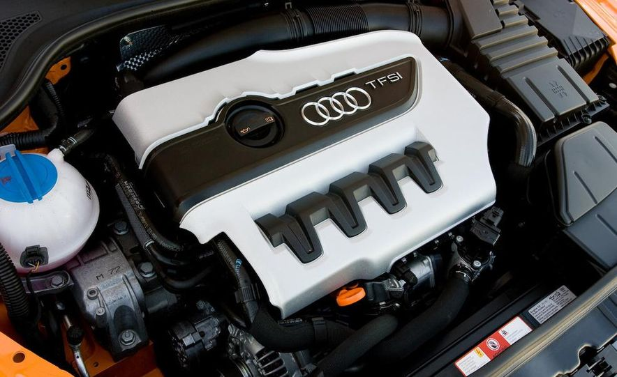 2010 Audi TTS 2.0-liter turbocharged and direct-injected inline-4 engine - Slide 1