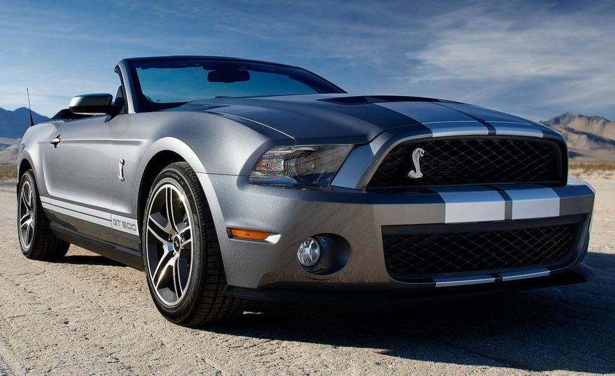 2010 Ford Mustang Shelby GT500 coupe - Slide 62