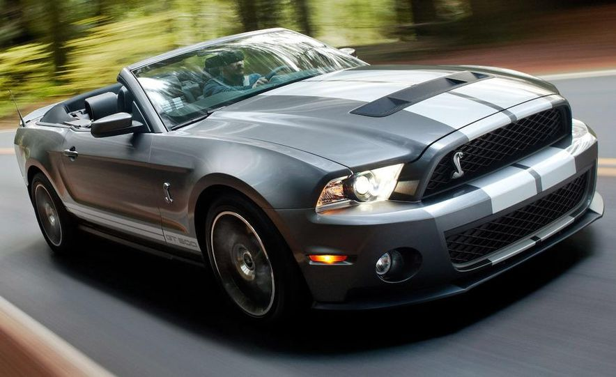2010 Ford Mustang Shelby GT500 coupe - Slide 65