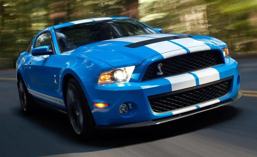 2010 Ford Mustang Shelby GT500 coupe - Slide 34