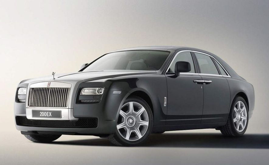 2010 Rolls-Royce Ghost - Slide 99