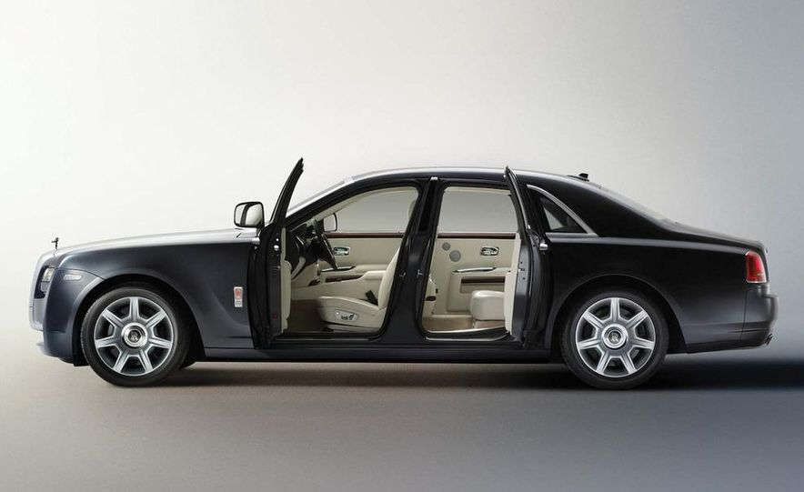 2010 Rolls-Royce Ghost - Slide 100