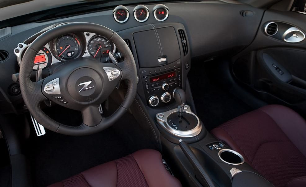 2010 Nissan 370z Roadster Interior Pictures Photo Gallery Car