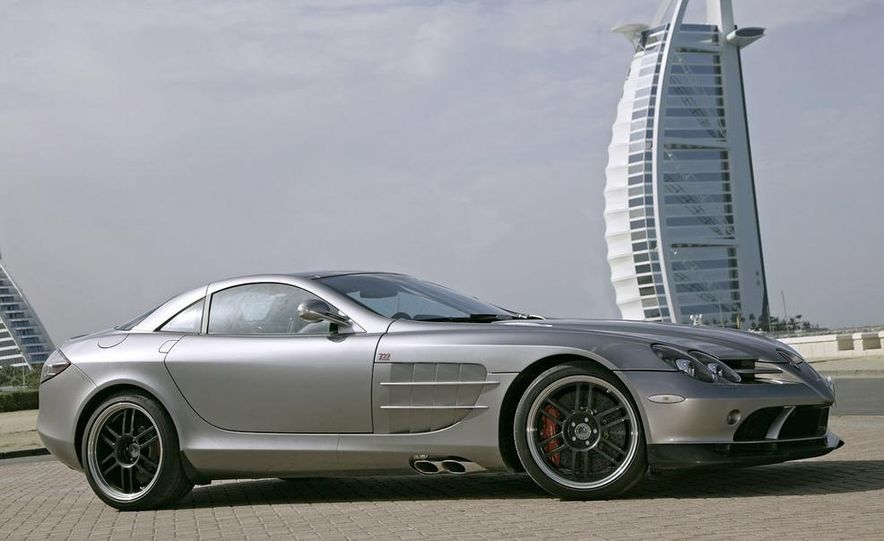 2007 Mercedes-Benz SLR McLaren 722 Edition - Slide 4