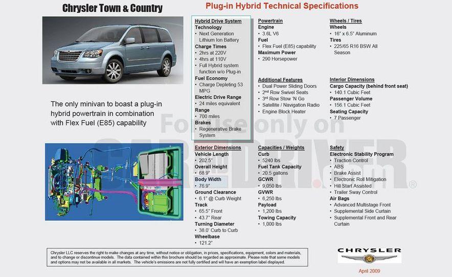 Jeep Wrangler Unlimited EV, Jeep Patriot EV, Chrysler Town & Country EV, and Dodge Circuit EV concepts - Slide 47