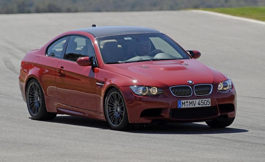 2008 BMW M3 coupe 4.0-liter V-8 engine - Slide 7