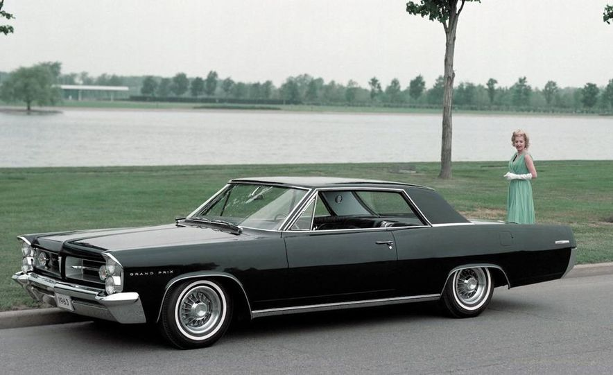 1963 Pontiac LeMans convertible - Slide 15