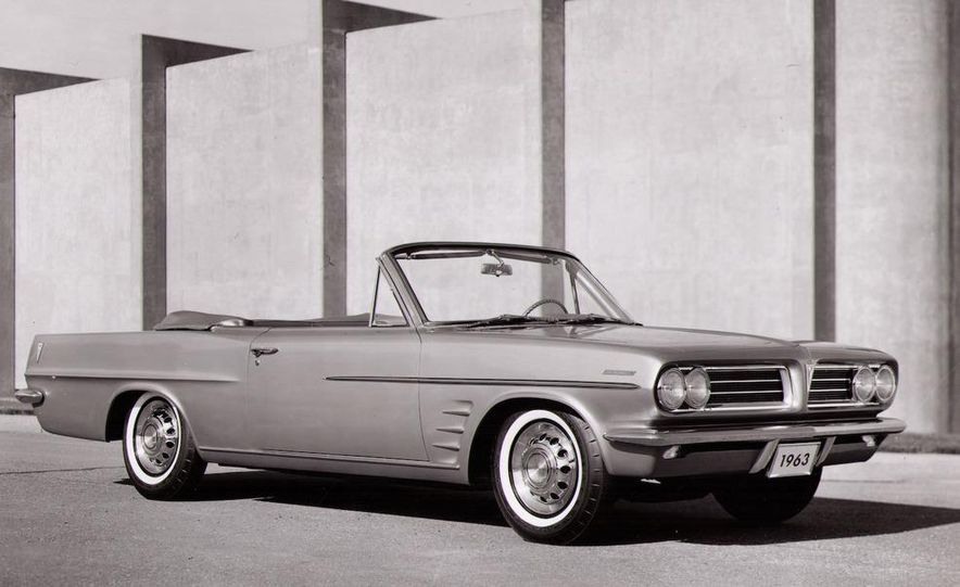1963 Pontiac LeMans convertible - Slide 1