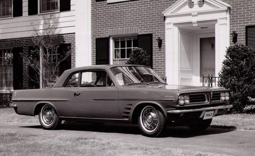 1963 Pontiac LeMans convertible - Slide 30