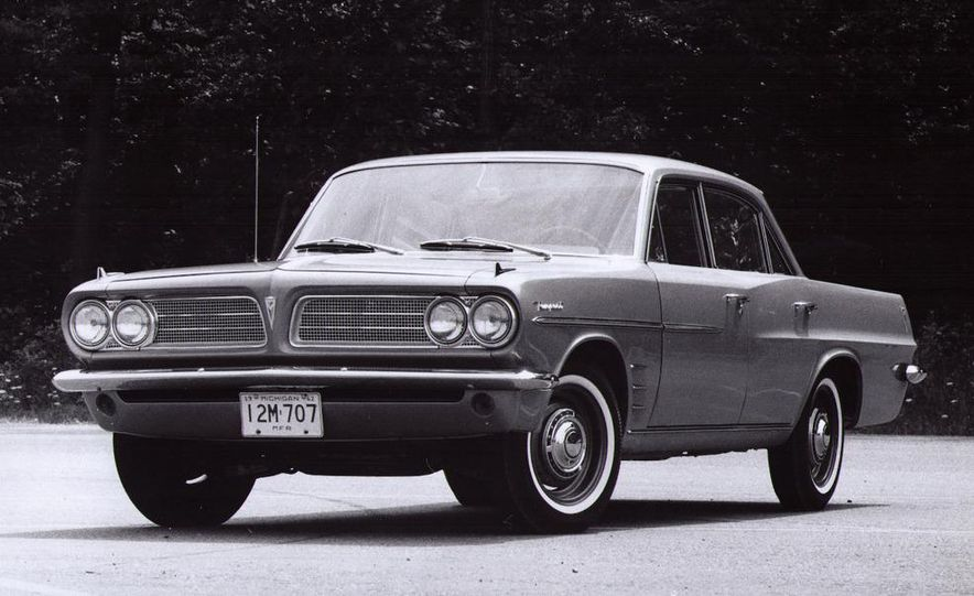 1963 Pontiac LeMans convertible - Slide 17
